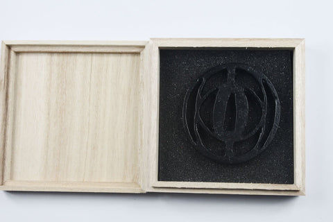 TB040   IRON TSUBA WITH BOX