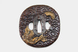 TC044 DRAGON CLOUD TSUBA