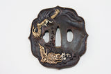 TC059 SWIMMING DRAGON TSUBA
