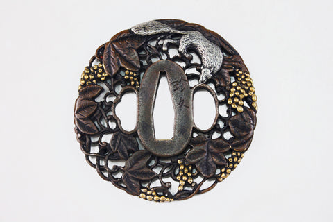 TD067 GRAPE SQUIRREL TSUBA