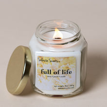 Load image into Gallery viewer, Full of Life - Luxury Coconut Wax | Wooden Wick Candle - Solasta Scents