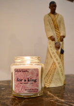 Load image into Gallery viewer, For a King - Luxury Coconut Wax | Wooden Wick Candle - Solasta Scents