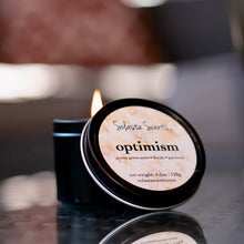 Load image into Gallery viewer, Optimism Black Travel Candle