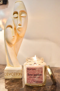 Love Potion - Luxury Coconut Wax | Wooden Wick Candle - Solasta Scents