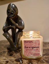 Load image into Gallery viewer, For a Queen - Luxury Coconut Wax | Wooden Wick Candle - Solasta Scents