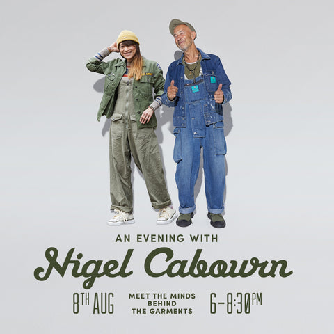 Nigel Cabourn and Emilie Casiez in-Store at Heffernan and Haire