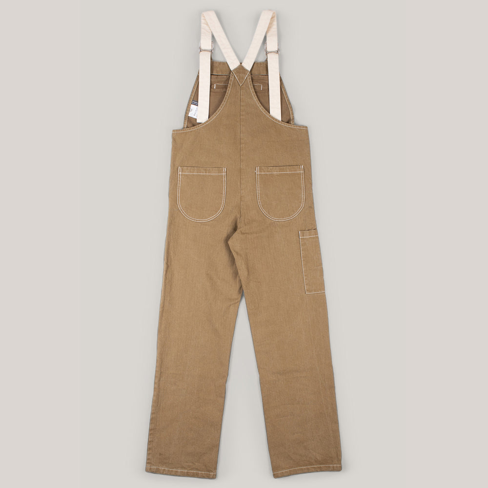 W'MENSWEAR RESEARCH DUNGAREE - KHAKI