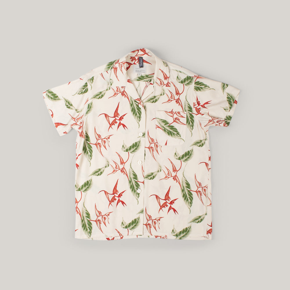 W'MENSWEAR ALOHA RESEARCH SHIRT
