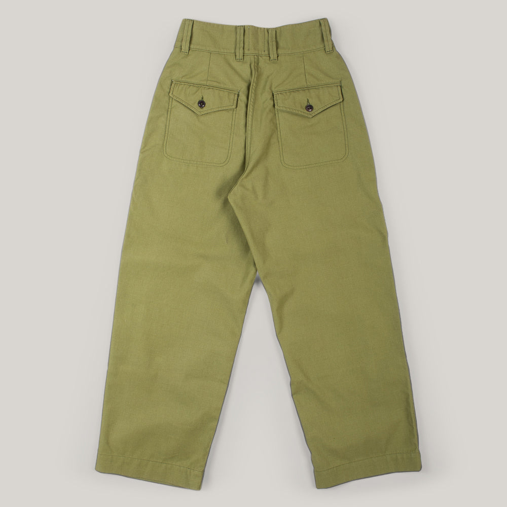 GIRLS OF DUST FIELD CHINO FOREST CAMO - OLIVE SATEEN
