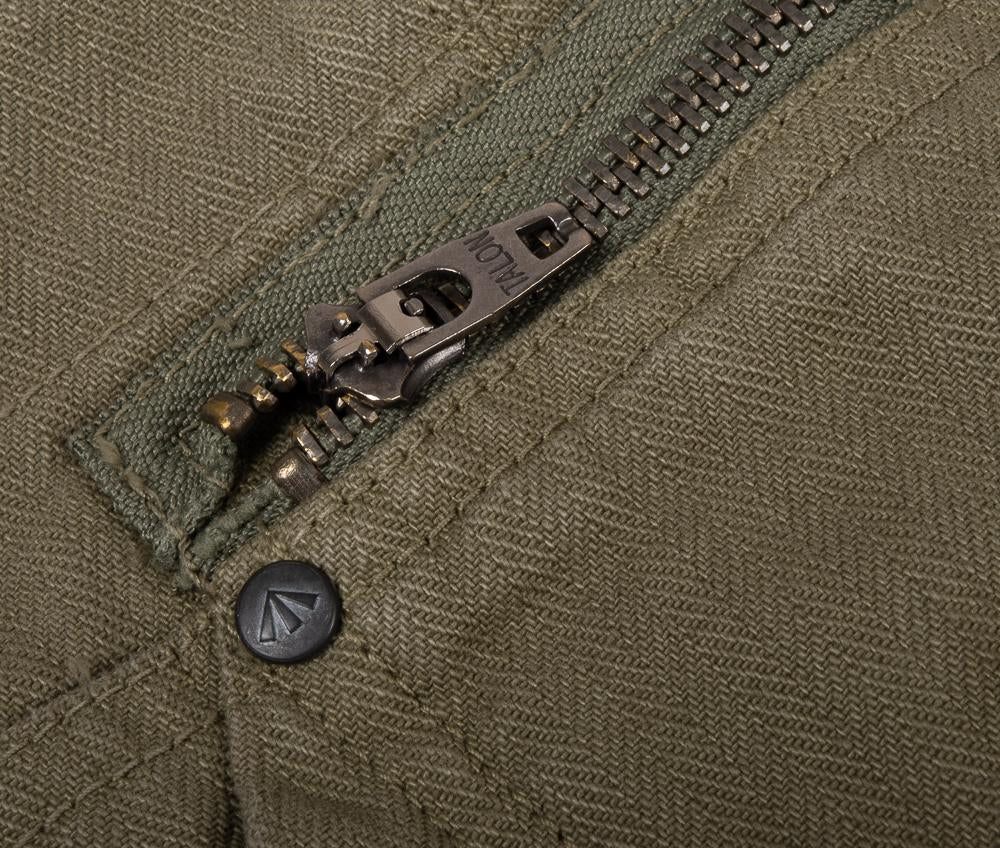 NIGEL CABOURN X LYBRO P-61 NAVAL DUNGAREE HB - GREEN