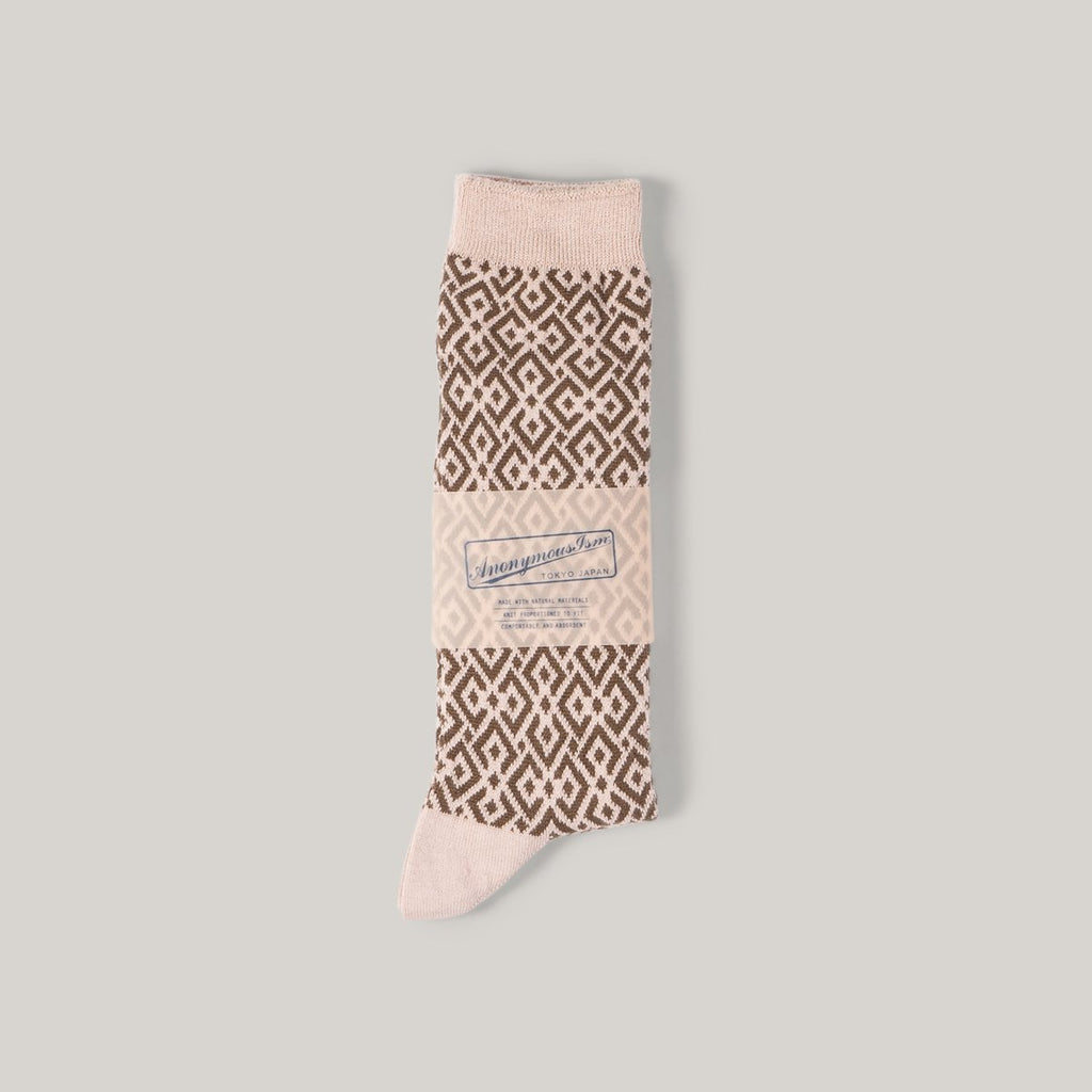 ANONYMOUS ISM STRUCTURE JACQUARD - BEIGE