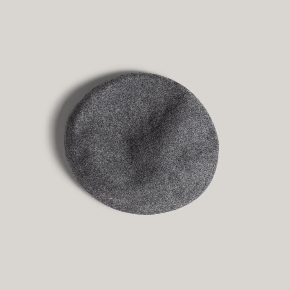 H.W. DOG & CO. BASIC BERET - M. GREY