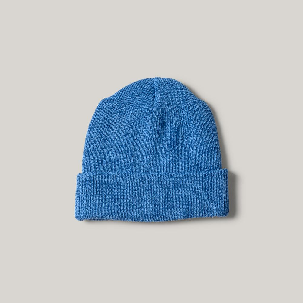 H.W. DOG & CO. 90 WATCHS BEANIE - BLUE