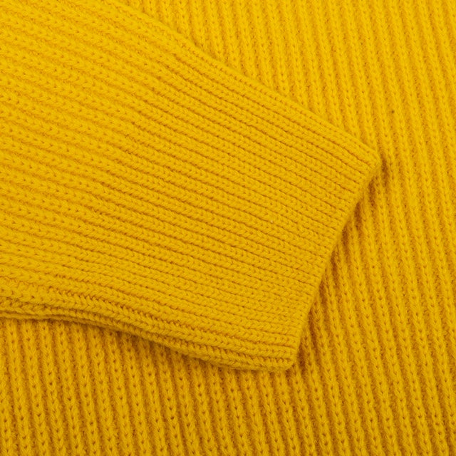 GIRLS OF DUST V NECK KNITWEAR - LEMON