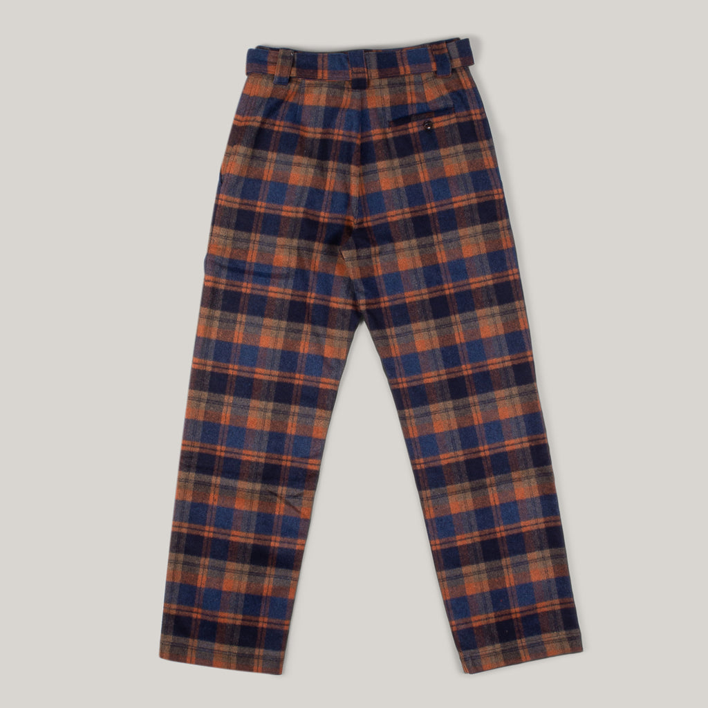 GIRLS OF DUST HAVANA CHINO - WOOL TARTAN