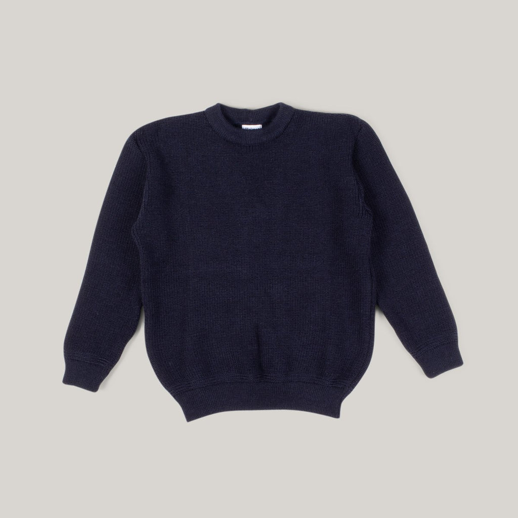 HEIMAT CREWNECK SWEATER - INK