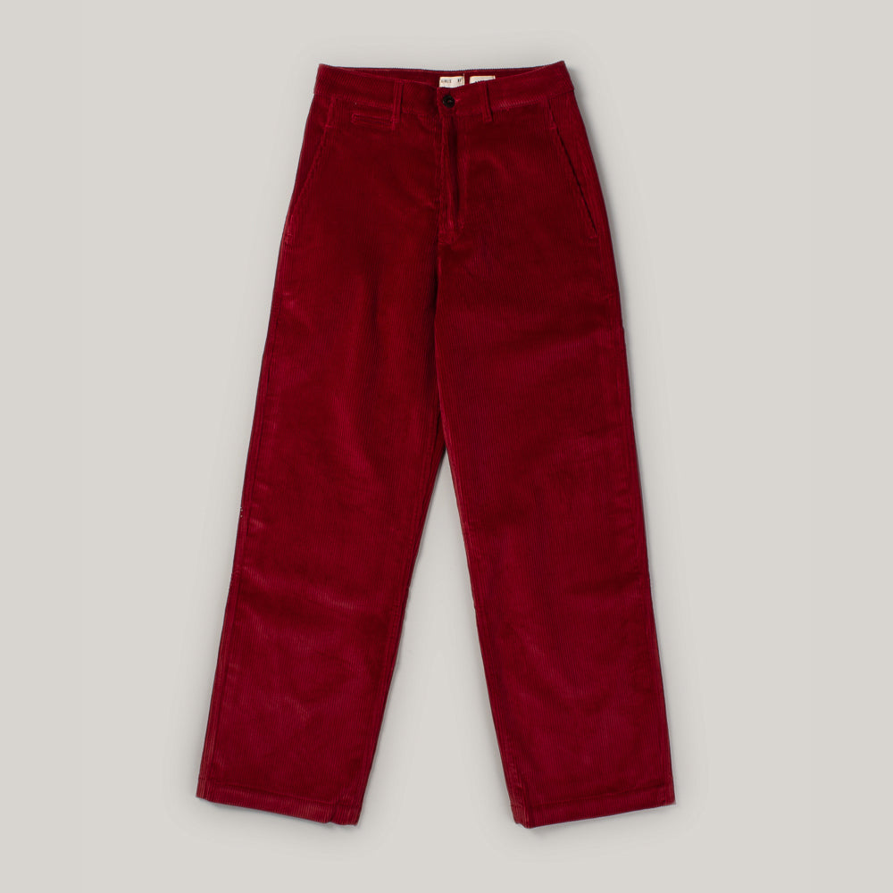 GIRLS OF DUST RENO CHINO CORDS - BERRY