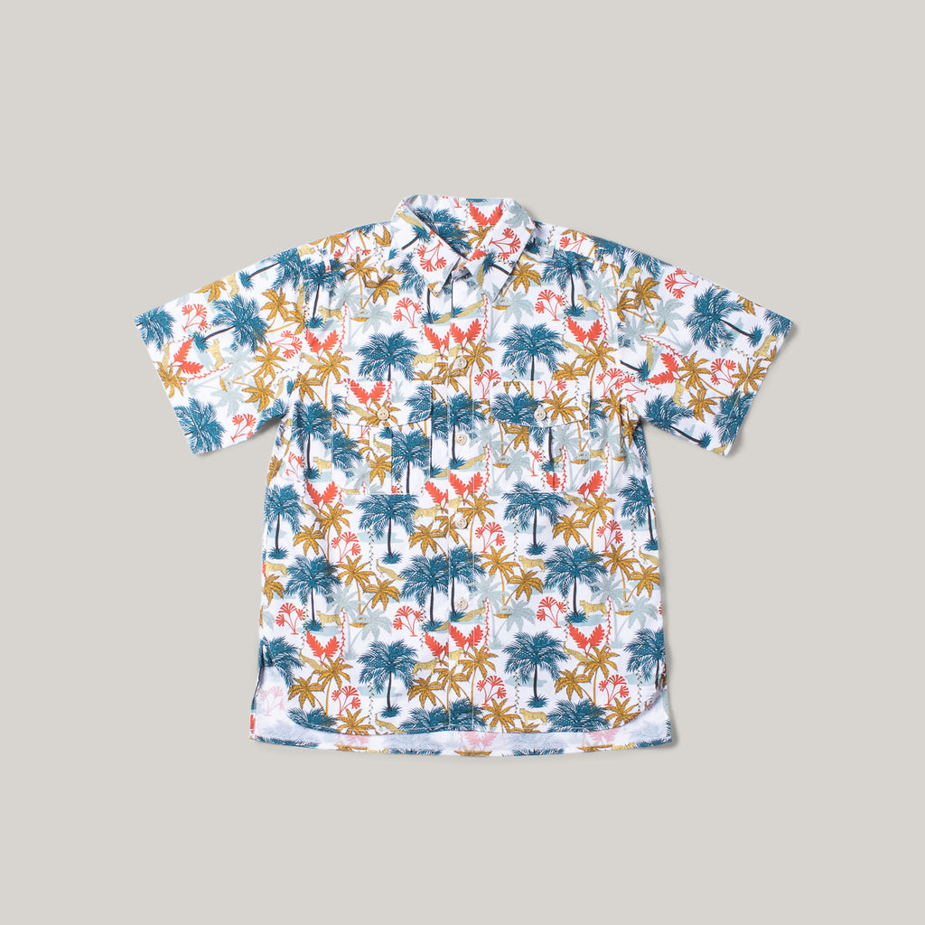 GIRLS OF DUST CUBAN SHIRT - PARADISE COTTON PRINT