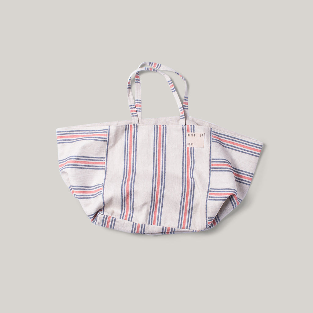 GIRLS OF DUST TOTE BAG - PRISONERS STRIPE
