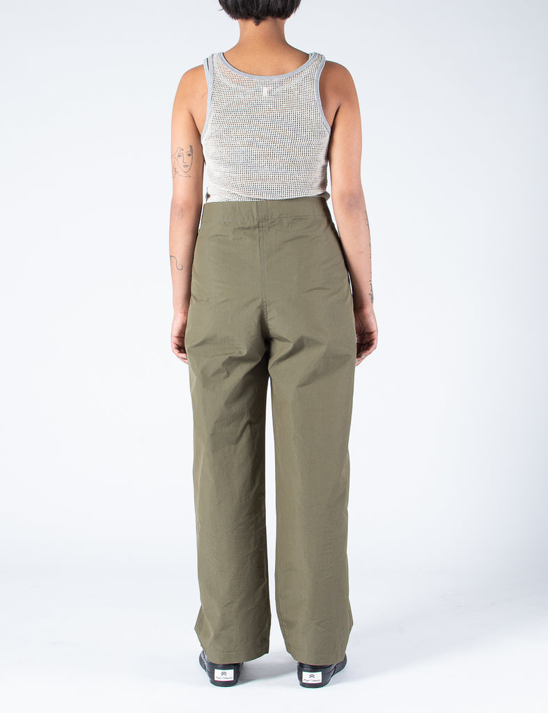 W'MENSWEAR MESS PANT - GREEN