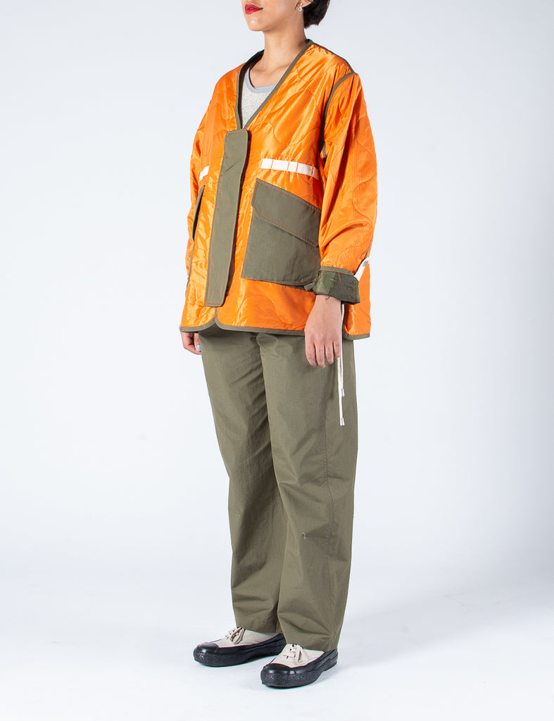 W'MENSWEAR TROPICAL FLIGHT JACKET - ORANGE