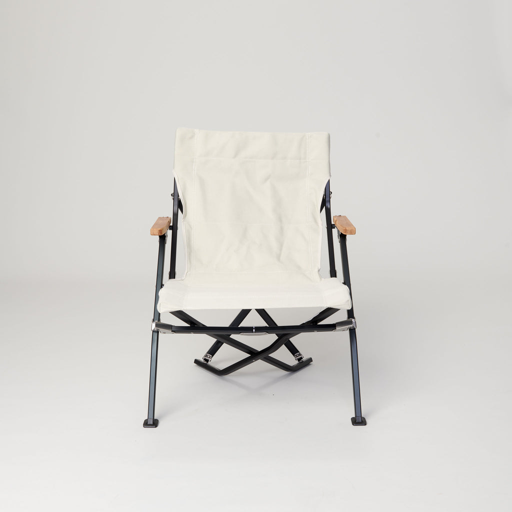 SNOW PEAK LOW CHAIR SHORT IVORY