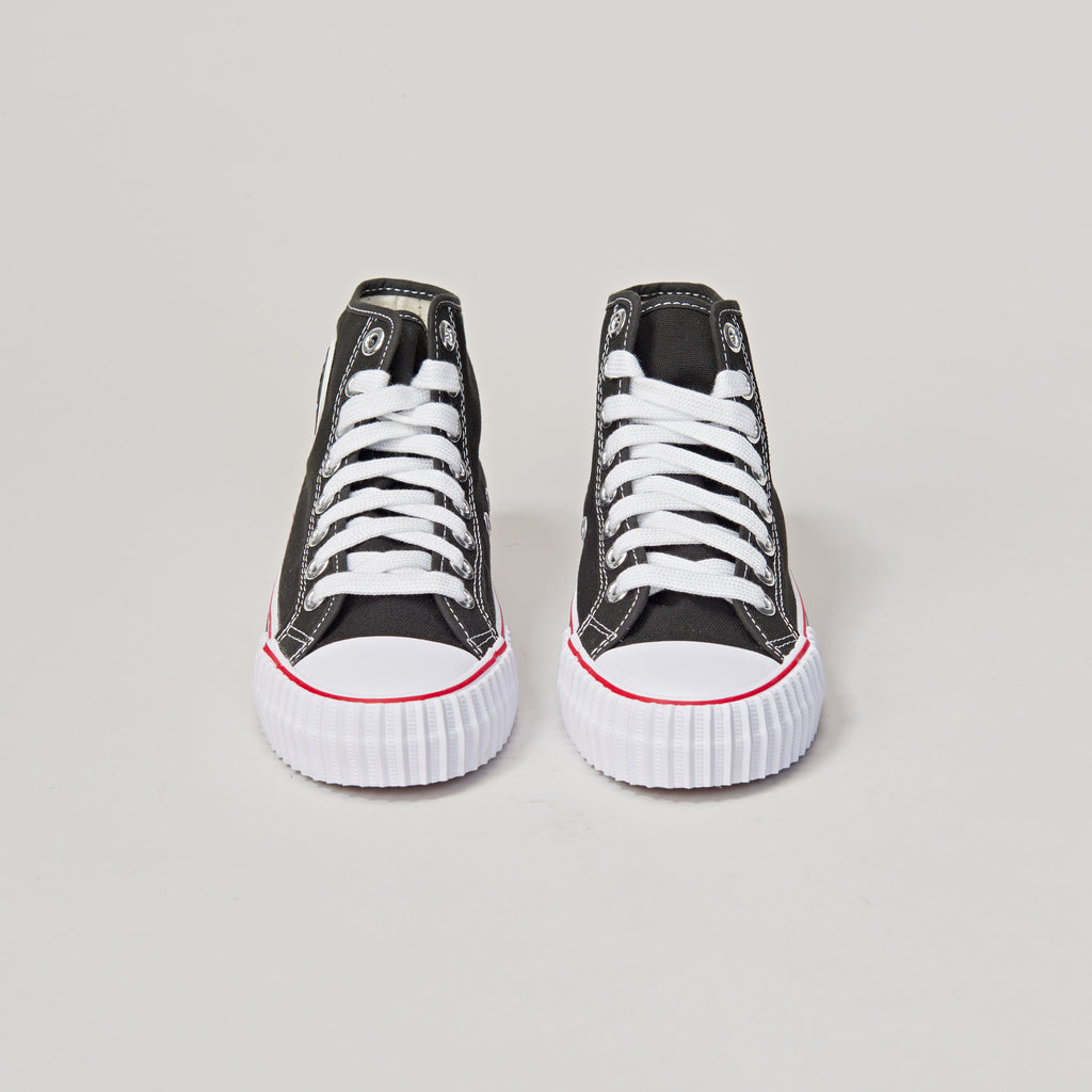 PF FLYERS Hi - BLACK/WHITE