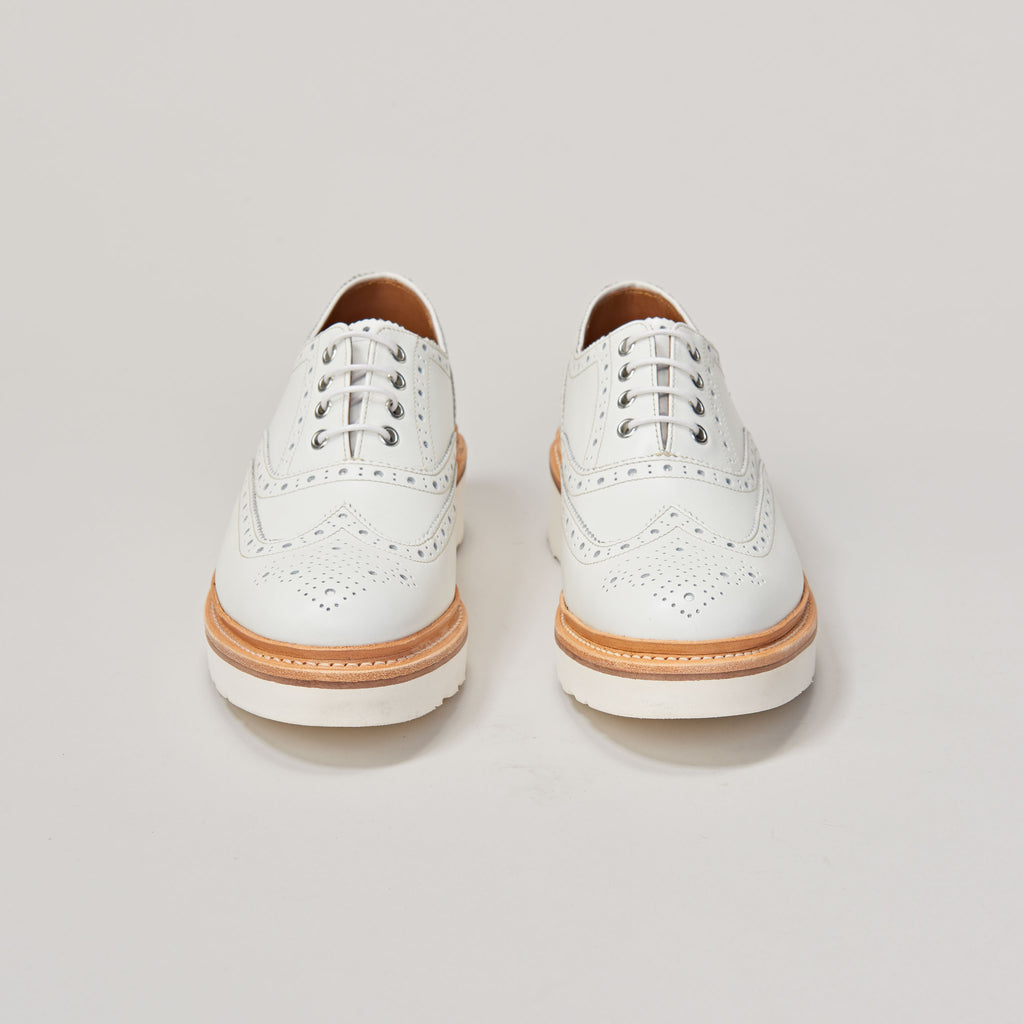 GRENSON EMILY WHITE CALF BROGUE