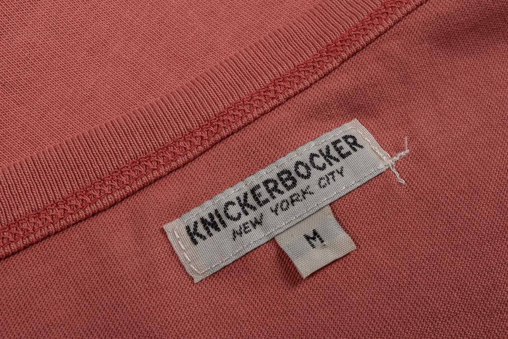 KNICKERBOCKER 'THE' T SHIRT - BRICK