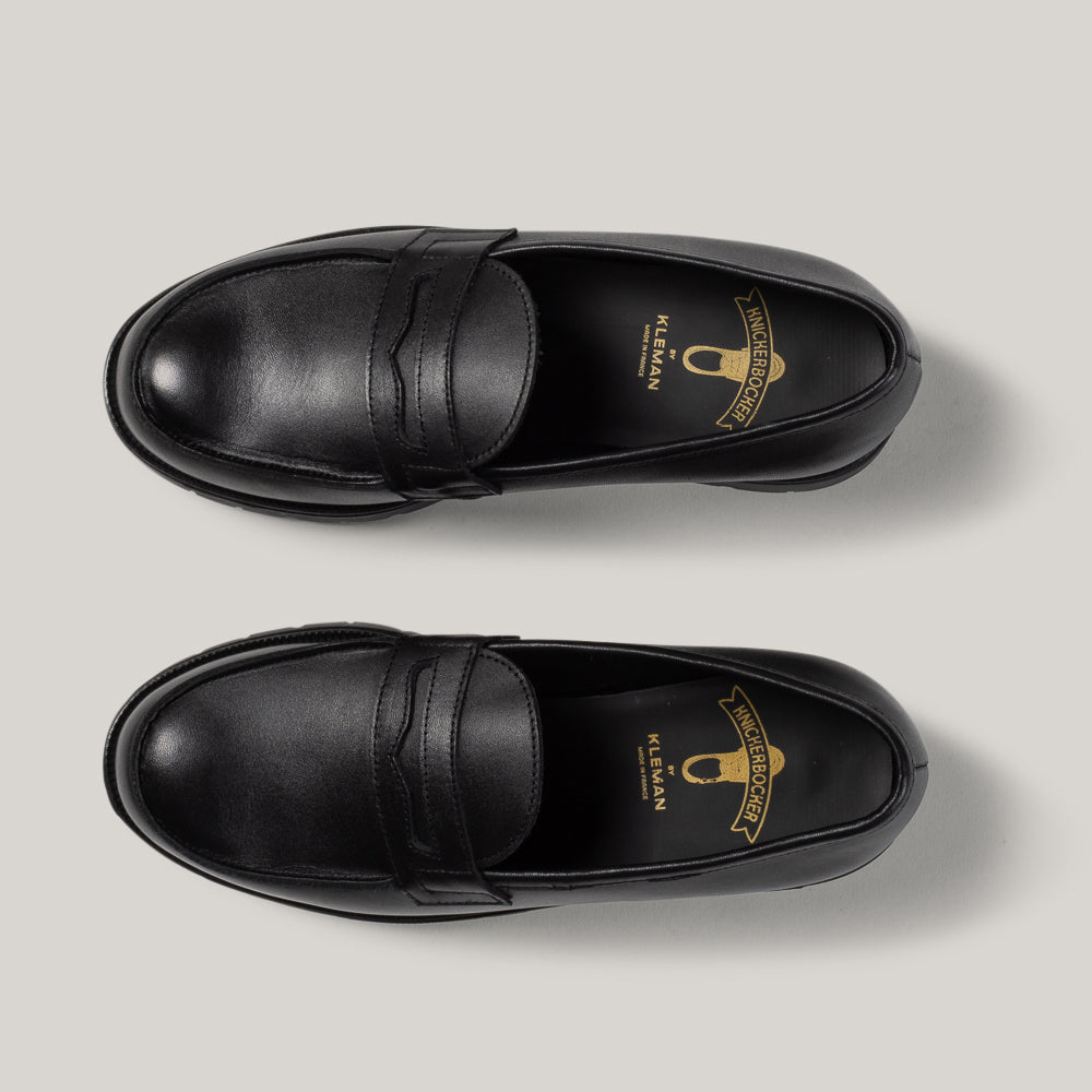 KLEMAN x KNICKERBOCKER BLOCK LOAFER - BLACK