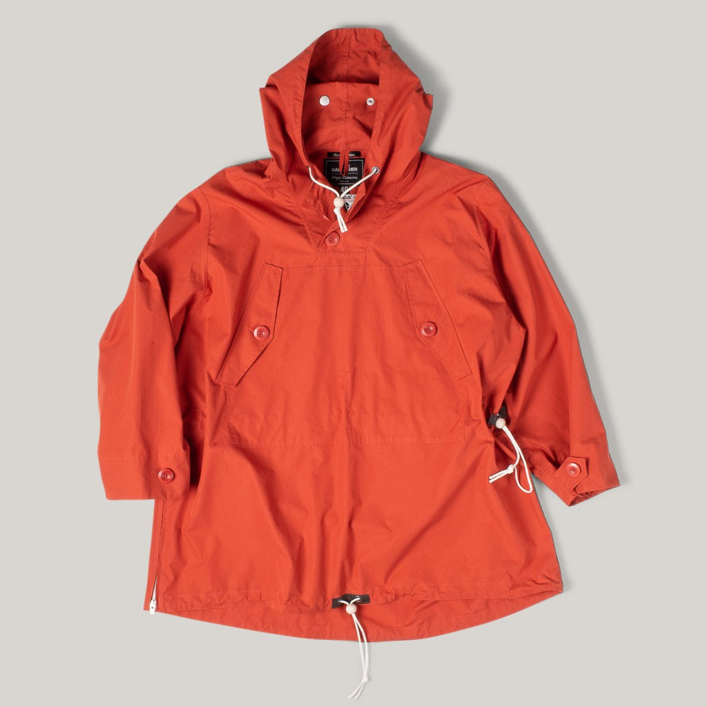 NIGEL CABOURN X LIAM GALLAGHER LONG SMOCK - VINTAGE ORANGE