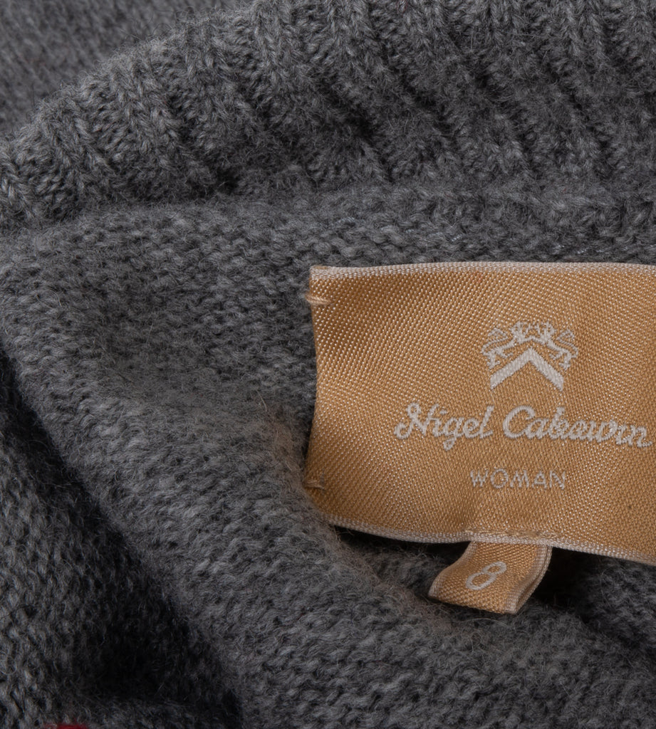 NIGEL CABOURN WOMAN RESCUE WET SWEATER - GREY