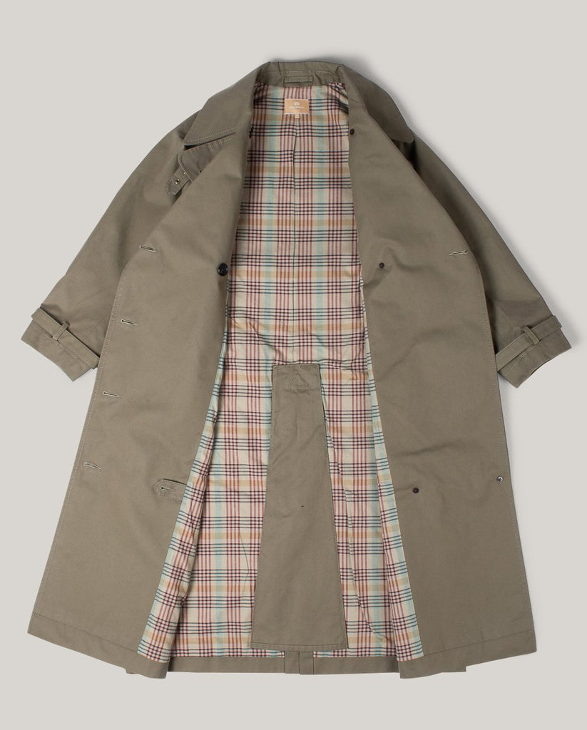 NIGEL CABOURN WOMAN 1948 BRITISH ARMY COAT - DARK GREEN