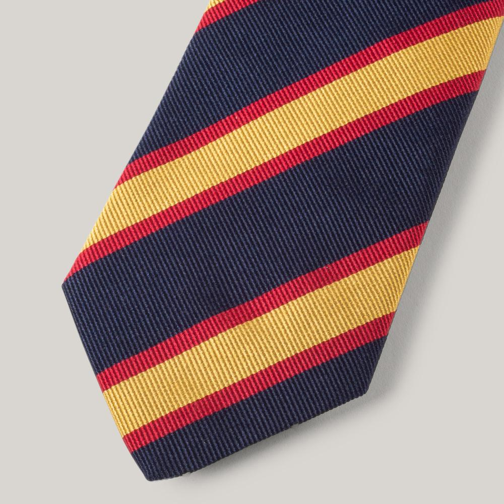 1ST PAT-RN MIL-TRAD TIE - OLD FELSTED