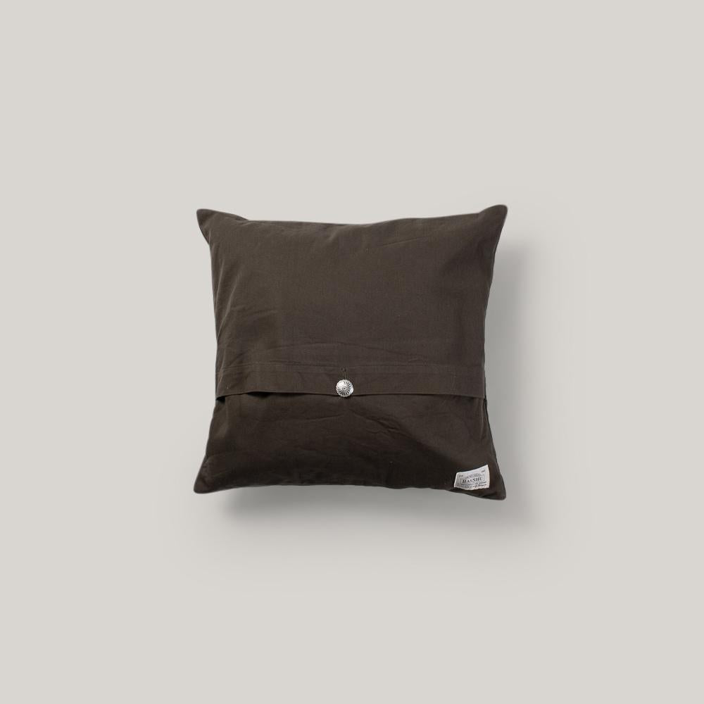BASSHU CHIMAYO CUSHION COVER - GRAY