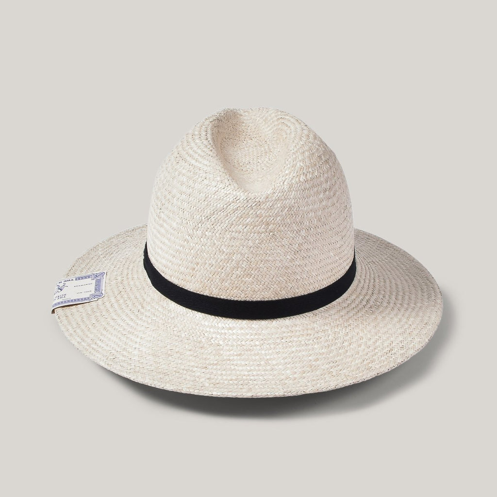 H.W. DOG & CO. FEDORA HAT - NATURAL