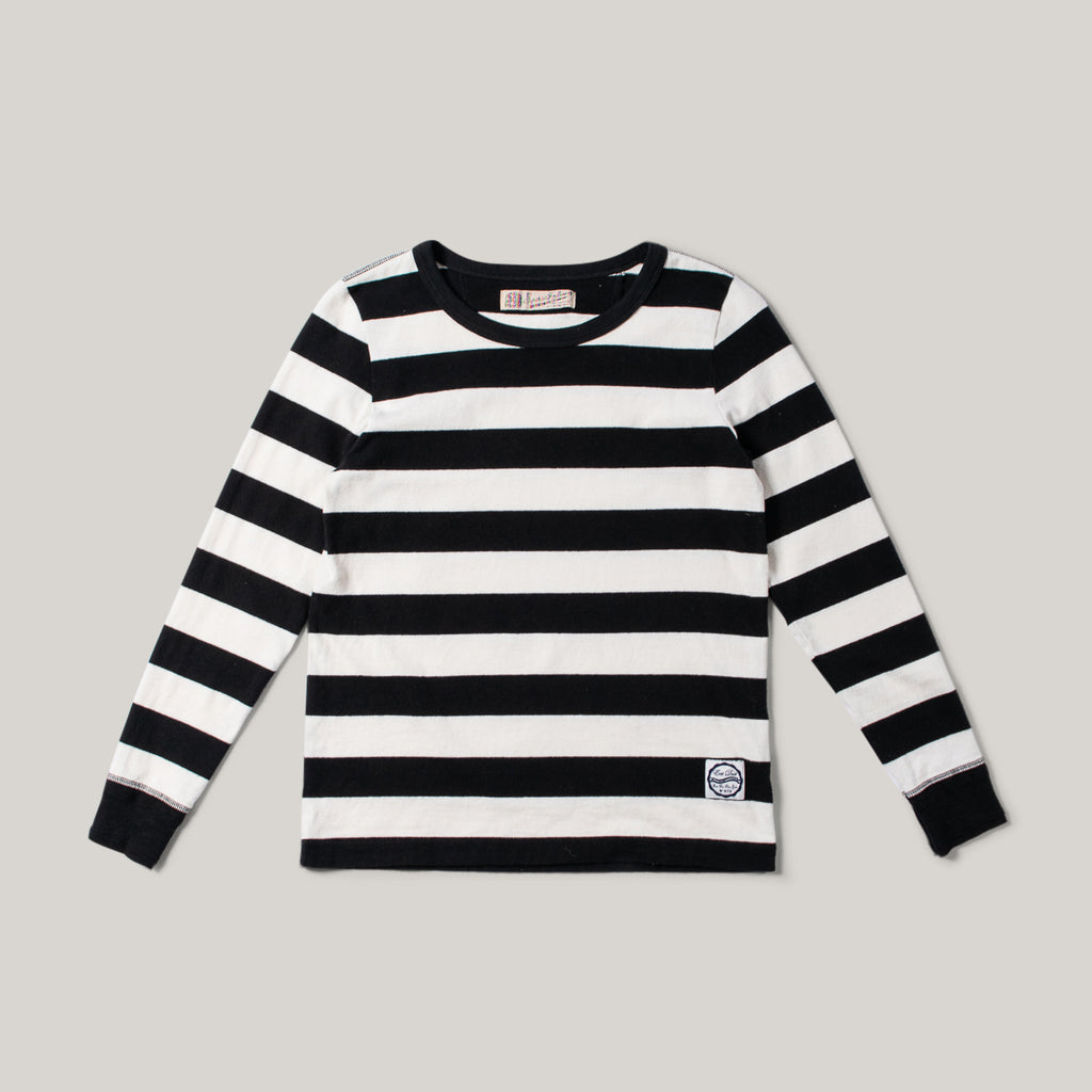 GIRLS OF DUST CLUB T L/S JERSEY - BLACK/WHITE