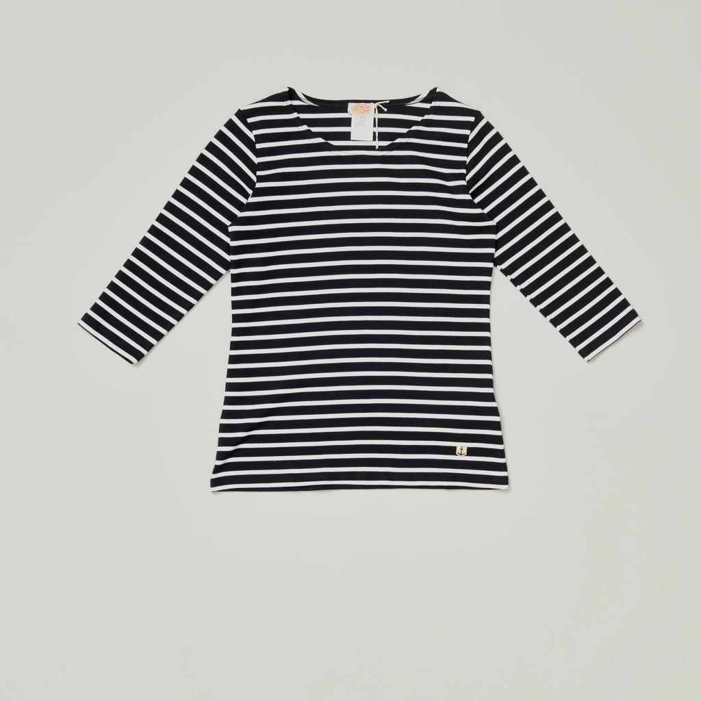 ARMOR LUX SAILOR SHIRT HERITAGE- RICH NAVY/ WHITE