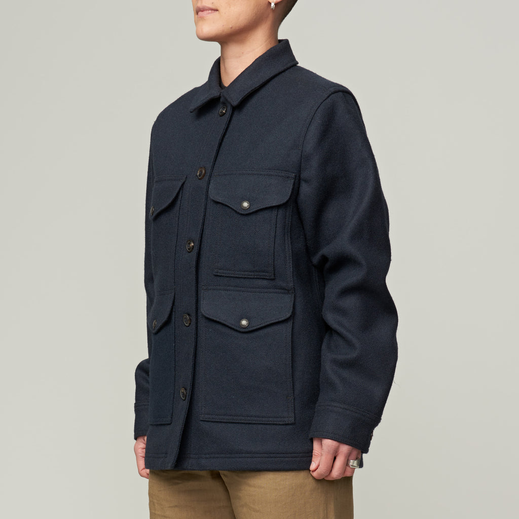 FILSON WOMEN'S LINED SEATTLE CRUISER - NAVY