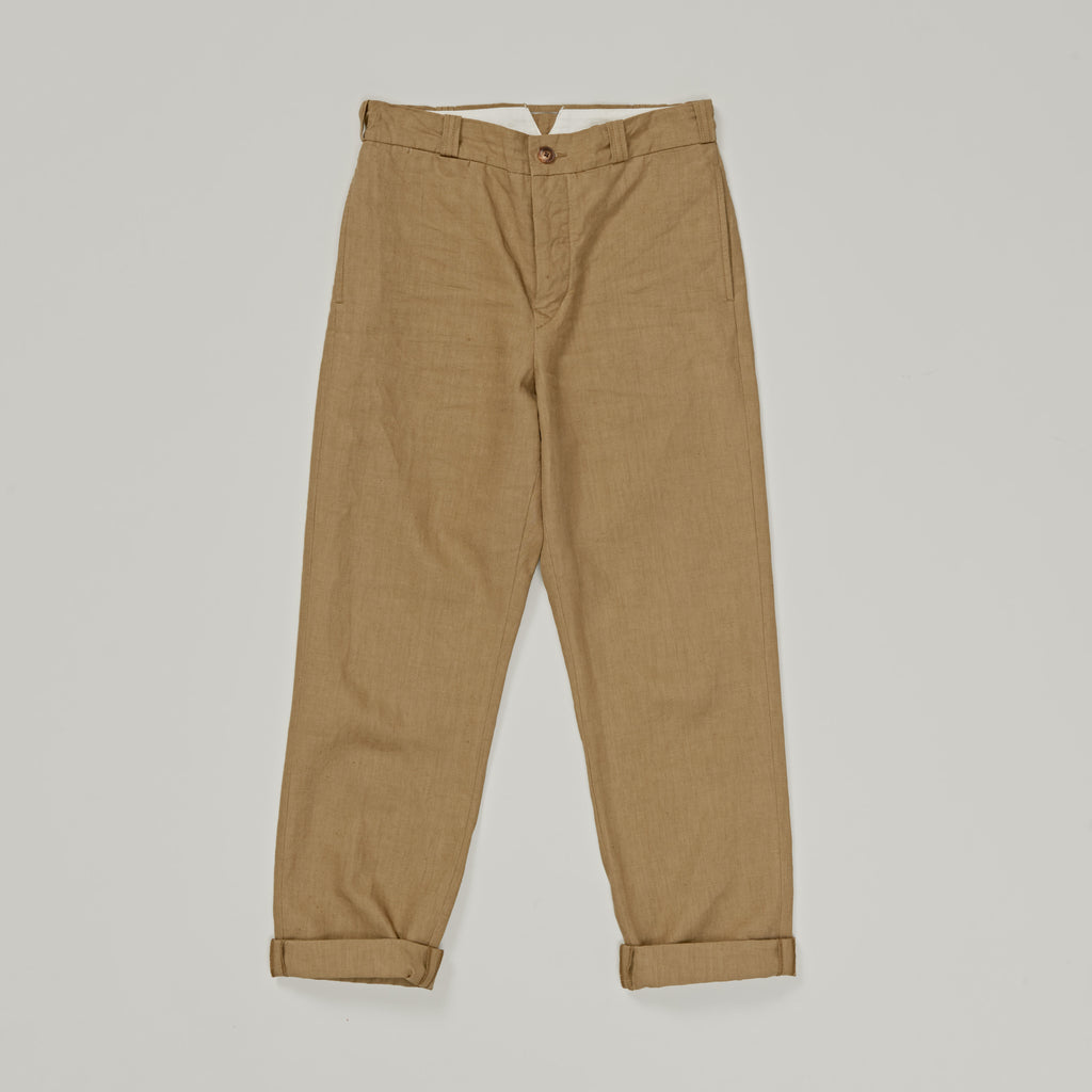 NIGEL CABOURN WOMAN - BASIC PANT LINEN