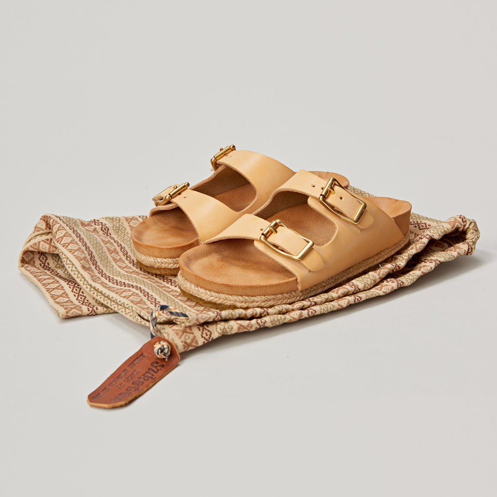 YUKETEN WOMEN'S ARIZONIAN SANDAL - NATURAL
