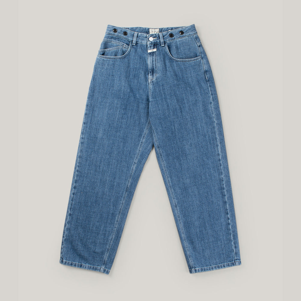 NIGEL CABOURN X CLOSED JEANS - MID BLUE