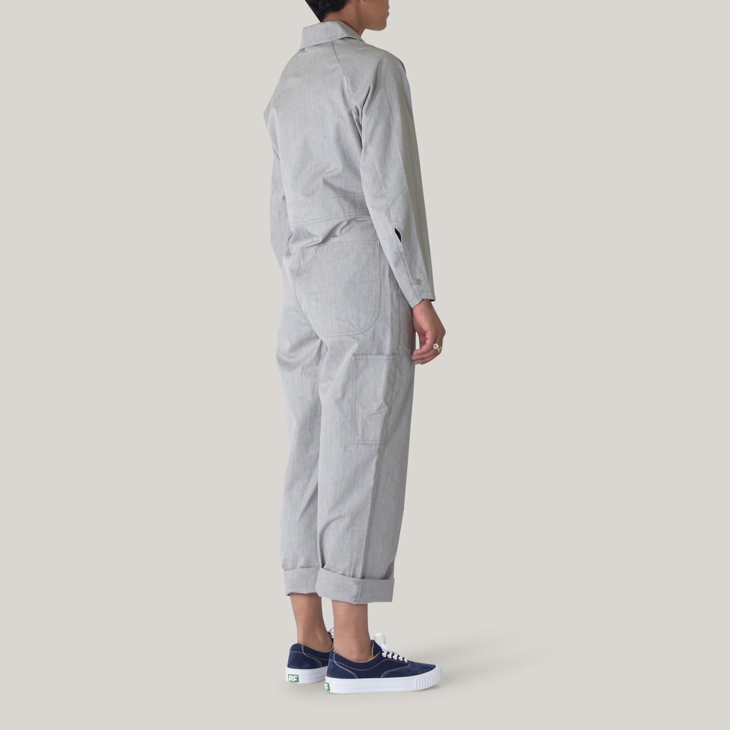 W'MENSWEAR FIELDWORK SUIT - GREY