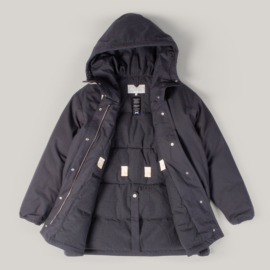 W'MENSWEAR MOON PARKA - DARK GREY
