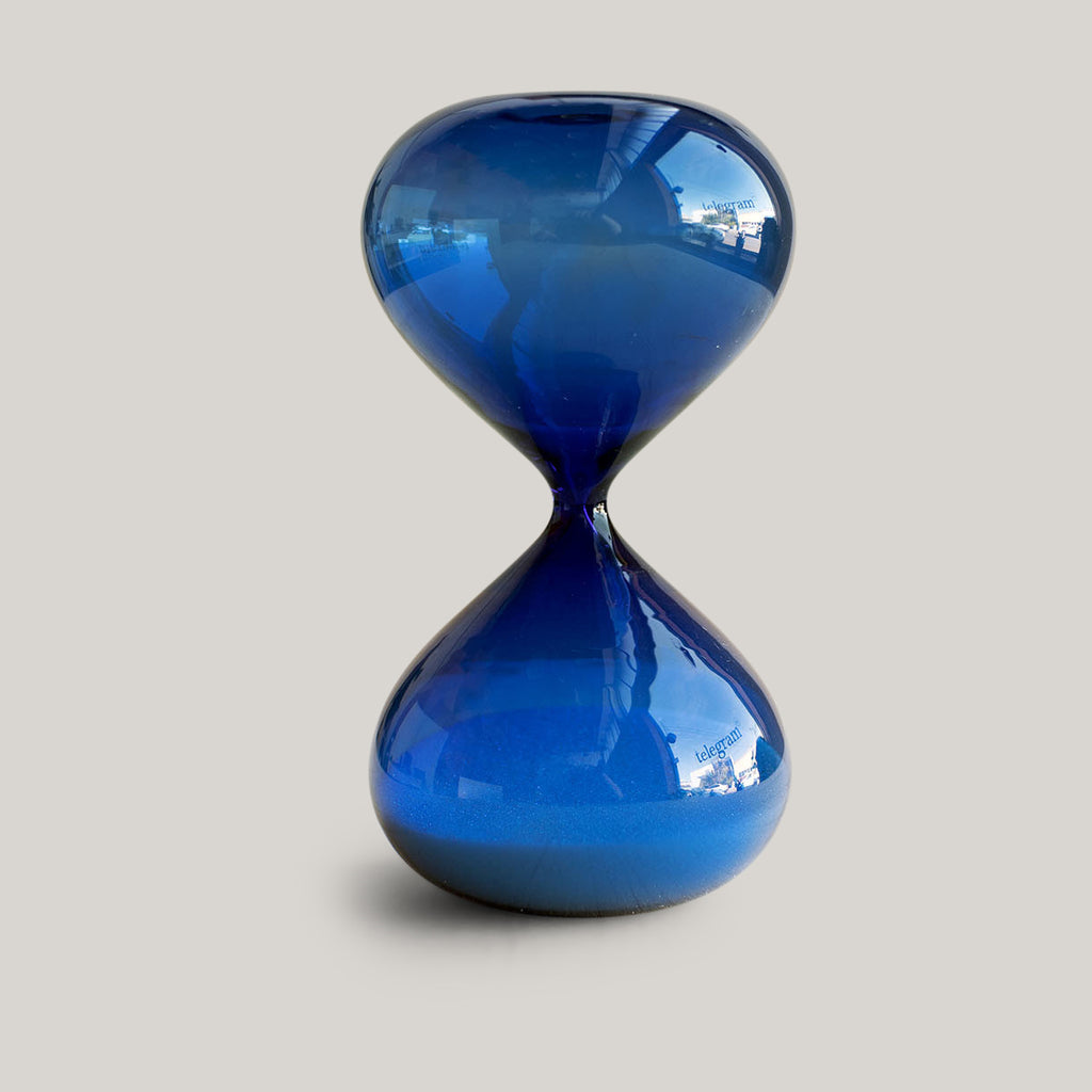HIGHTIDE HOURGLASS - LARGE BLUE