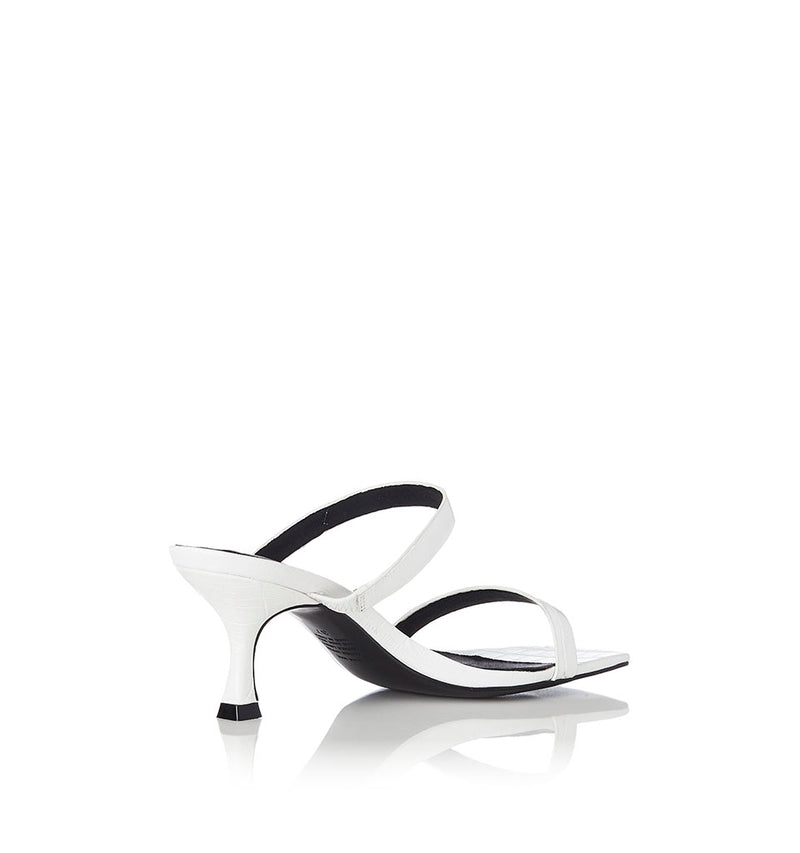 Alias Mae - Bailey Heel in White