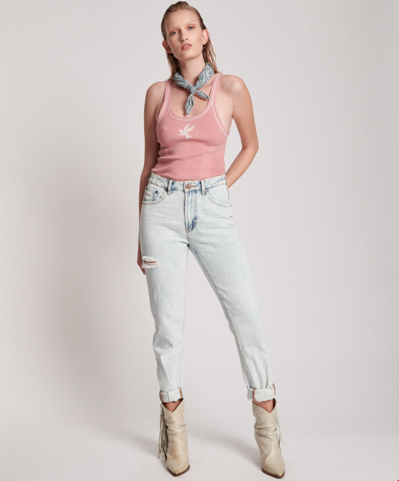 ONE TEASPOON - FLORENCE HIGH WAIST AWESOME BAGGIES DENIM JEANS