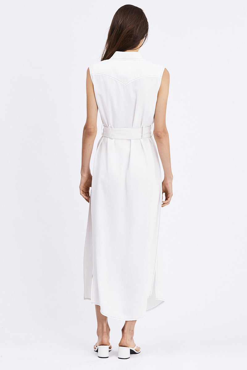 Third Form - WESTERN MAXI DRESS | OFF WHITE