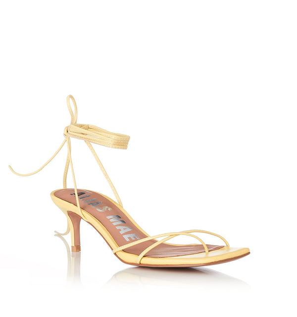 Alias Mae - Ellery in Lemon Leather