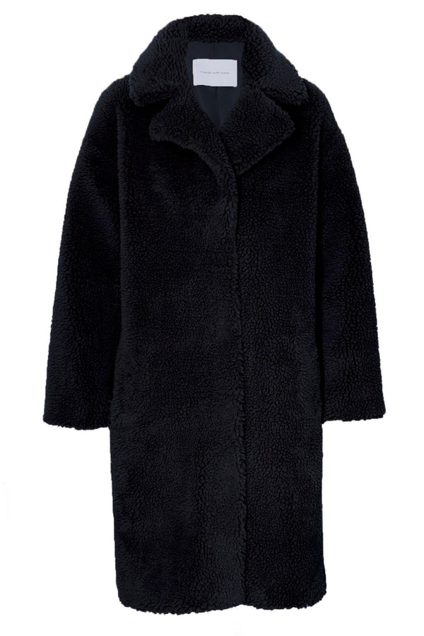 FRIENDS WITH FRANK - Harriet Coat (Black)